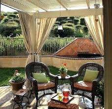 Outdoor Winter Curtains Patio Curtains For Winter Best Outdoor Drapes Ideas On Patio