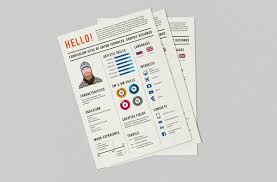 Designed Resumes 30 Beautifully Designed Resume Examples For Your Inspiration