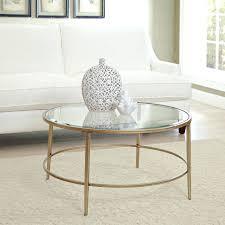 round gold glass coffee table gold glass coffee table set metal top cheap daniellemorgan