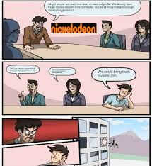 Boardroom Meeting Meme - nickelodeon board room meeting boardroom suggestion know your meme