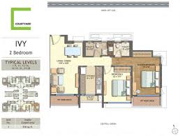 floor plans with courtyard the wadhwa courtyard floor plan courtyard pokhran 2 mumbai thane