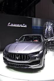 maserati jeep new maserati levante suv detailed in geneva just as production