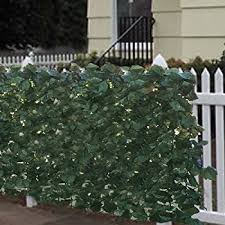 Decorative Outdoor Fencing Amazon Com Best Choice Products Faux Ivy Privacy Fence Screen 94