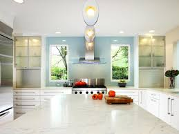 Transitional White Kitchen - transitional white kitchen green carving stained wooden frame