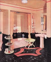 retro home interiors 1940 armstrong bathroom mid century interior design retro home style