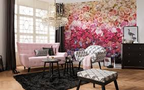 an easy transformation with komar brewster home rose wall mural