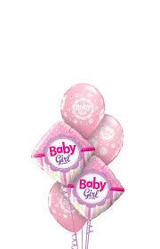 balloon bouquest baby girl balloon bouquet designer balloons studio bermuda