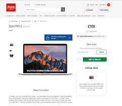macbooks black friday argos black friday deal blunder as new macbook listed on website