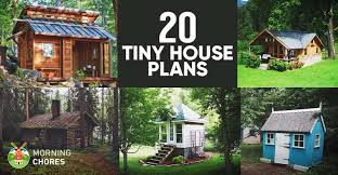 20 free diy tiny house plans to help you live the small u0026 happy life