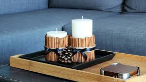 smells like home candles upgrade simple vanilla candles with a cinnamon stick diy decorative