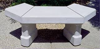 Curved Outdoor Benches Concrete Landscape Benches Outdoor Concrete Benches Phoenix