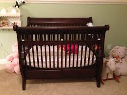 Sleigh Bed Crib Mark U0027s Sleigh Crib The Wood Whisperer