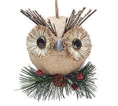 owl ornaments rainforest islands ferry