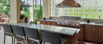 accessories outdoor kitchen showroom custom designed