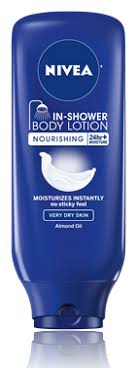 in shower nourishing lotion nivea