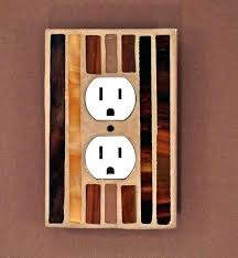 Decorative Wall Outlets Easy Electrical Outlet Cover Tip Home