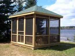Screen Kits For Porch by Best 25 Screened Gazebo Ideas On Pinterest Screened In Gazebo
