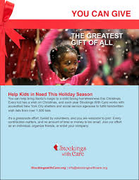 Christmas Gifts For Volunteers How To Help Stockings With Care