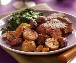 Red Potato Main Dish Recipes - roasted baby red white u0026 purple potatoes with rosemary fennel