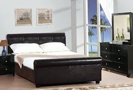 Bedroom Set With Leather Headboard Leather Headboard Queen Bedroom Set Home Design Ideas