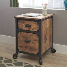 Rolling Storage Cabinet Kitchen Island Cart Mobile Portable Rolling Utility Storage