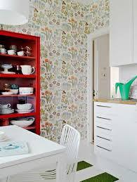 papier peint pour cuisine moderne papier peint pour cuisine tendance inspirations avec papier peint