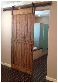 unusual barn door interior design features double panels barn