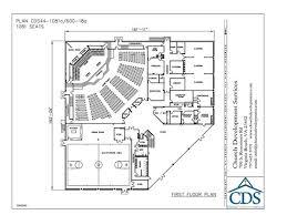 Simple Small Church Floor Plans Church Building Floor Plans by Small Church Building Plans Church Building Plan 44 1081 600 18