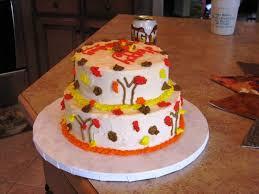 how to make a thanksgiving cake fall cakes ideas kolanli com