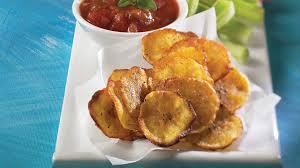 cuisiner la banane plantain croustilles de banane plantain recettes iga apéro chips