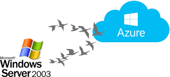windows server 2003 migration to microsoft azure