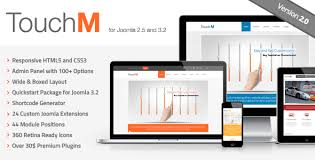 touchm responsive multi purpose joomla template by fourgrafx