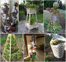 Different Garden Ideas 10 Space Saving Tower Garden Ideas