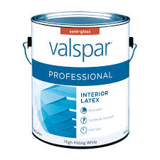 valspar professional interior semi gloss paint gallon interior