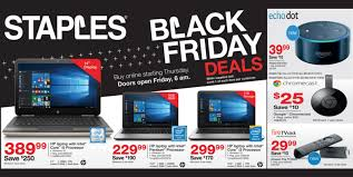 staples just posted its black friday 2016 ad echo dot 40