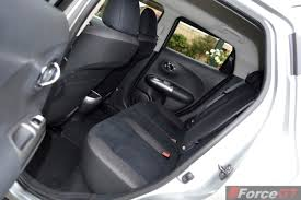 slammed nissan juke 2014 nissan juke st s rear seat space forcegt com
