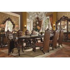 Acme Furniture Dining Room Set Dining Room Dining Room Sets Versailles 61100 7 Pc Dining Set At