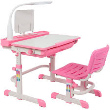 Pink Office Chair Best Choice Products Height Adjustable Children U0027s Desk And Chair