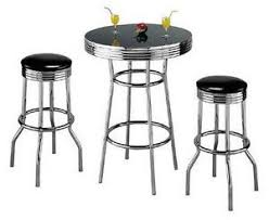 Glass Bar Table And Stools Bar Table Ebay