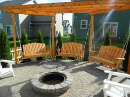 Gazebo Porch Swing gazebo with swings and fire pit fire pit design ideas