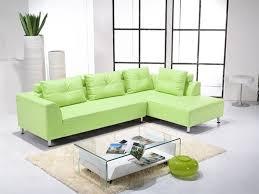 Lime Green Corner Sofa Green Leather Sofa Roselawnlutheran