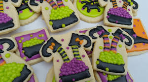 Sugar Cookie Halloween by Witch Halloween Cookies Tutorial