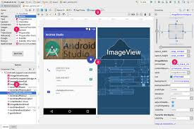 build a ui with layout editor android studio