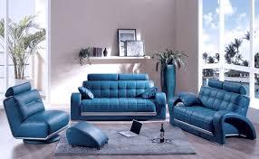 Blue Living Room Furniture Sets Living Room Blue Leather Living Room Leather Sofa