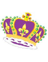 mardi gras crown mardi gras archives new orleans free vector clip
