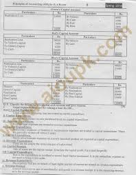 principles of accounting code 438 free solved assignments 2014 of aiou