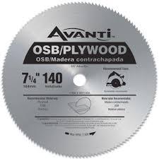 Cutting Laminate Flooring With A Circular Saw Avanti 7 1 4 In X 140 Teeth Osb Plywood Saw Blade A07140a The