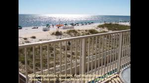 gulf dunes resort unit 304 okaloosa island fort walton beach