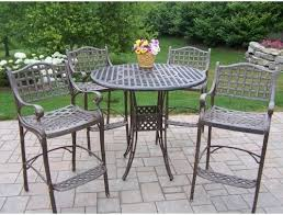 Bar Height Patio Chairs by Bar Height Patio Furniture Roselawnlutheran