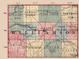 Map Of Central Illinois by Williamson County Illinois Maps And Gazetteers